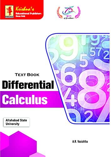 Krishna's TB Differential Caluculus 1.2 | Code 1409 | 26th Edtion (Mathematics Book 34) (English Edition)