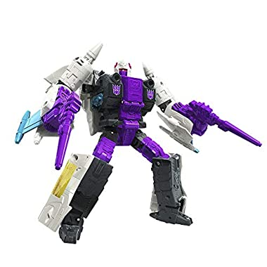 Transformers Toys Generations War for Cybertron: Earthrise Voyager WFC-E21 Decepticon Snapdragon Triple Changer Action…