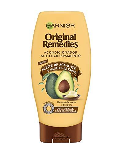 Garnier Original Remedies Aceite de aguacate y manteca de karité Acondicionador para pelo rebelde y encrespado - 250 ml