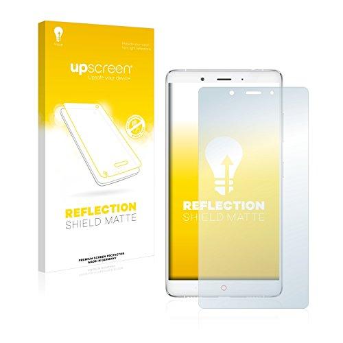 upscreen Entspiegelungs-Schutzfolie kompatibel mit ZTE Nubia Z11 Max – Anti-Reflex Bildschirmschutz-Folie Matt