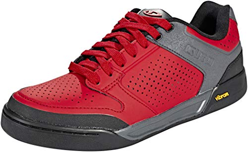 Giro Riddance Mens Downhill Cycling Shoe − 43, Dark Red/Dark Shadow (2020)