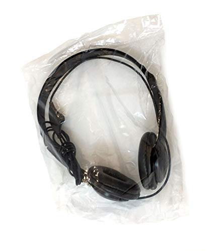 Soundnetic CCV 10 Pack Classroom Stereo Budg   et Headphones with Leatherette Earpads Volume Control