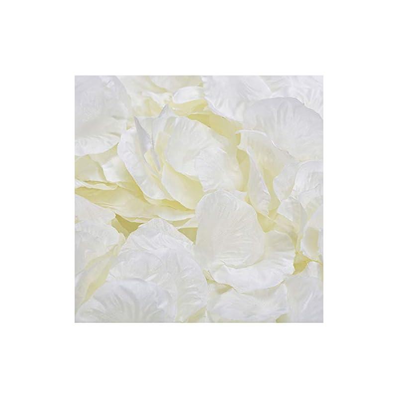 silk flower arrangements yanstar 1000 pcs ivory artificial silk rose petals for wedding party valentine day flower decoration-bulk package