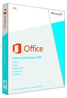 Microsoft Office Home and Business 2013 Medialess Lizenz-Key (B00A2ILZJA) | Amazon price tracker / tracking, Amazon price history charts, Amazon price watches, Amazon price drop alerts