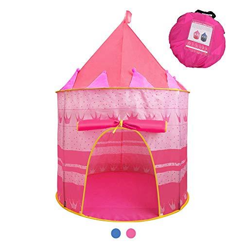 Jasonwell Casa de campaña con diseño de Castillo para niños niñas Tiendas de campaña Transpirable…