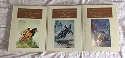 Edgar Rice Burroughs Library of Illustration. 3 Volumes Limited Edition in Slip Case