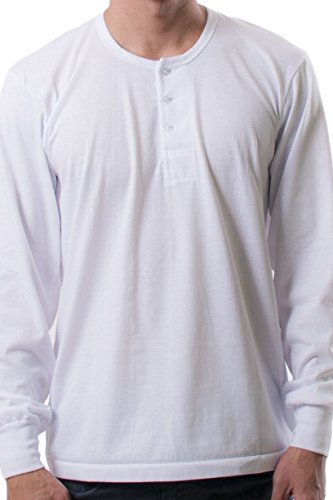 BW Filipino Camisa de Chino - Long-Sleeve - White