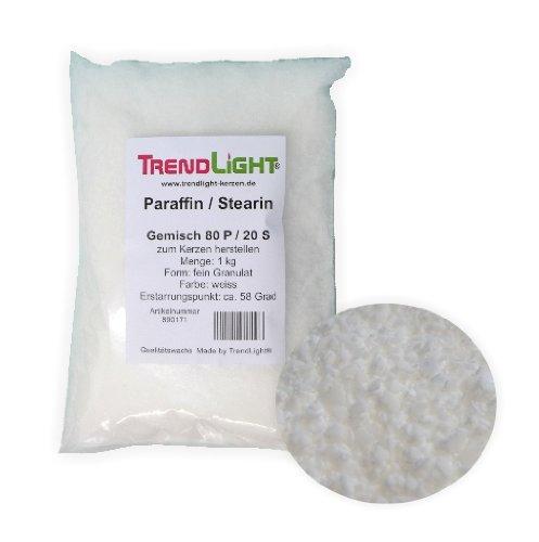 TrendLight 890171-5 - Mezcla de Ceras para Hacer Velas (80% parafina y...