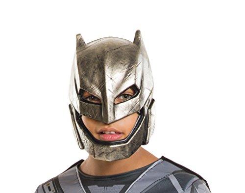 Rubie's Costume Batman v Superman: Dawn of Justice Kid's Armored Batman Half Mask