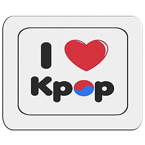 ALFOMBRILLA PEQUEÑA I LOVE KPOP KOREA MUSIC mousepad raton
