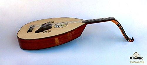 Türkische Professional Hälfte Schnitt E-Oud UD String Instrument aoh-101K