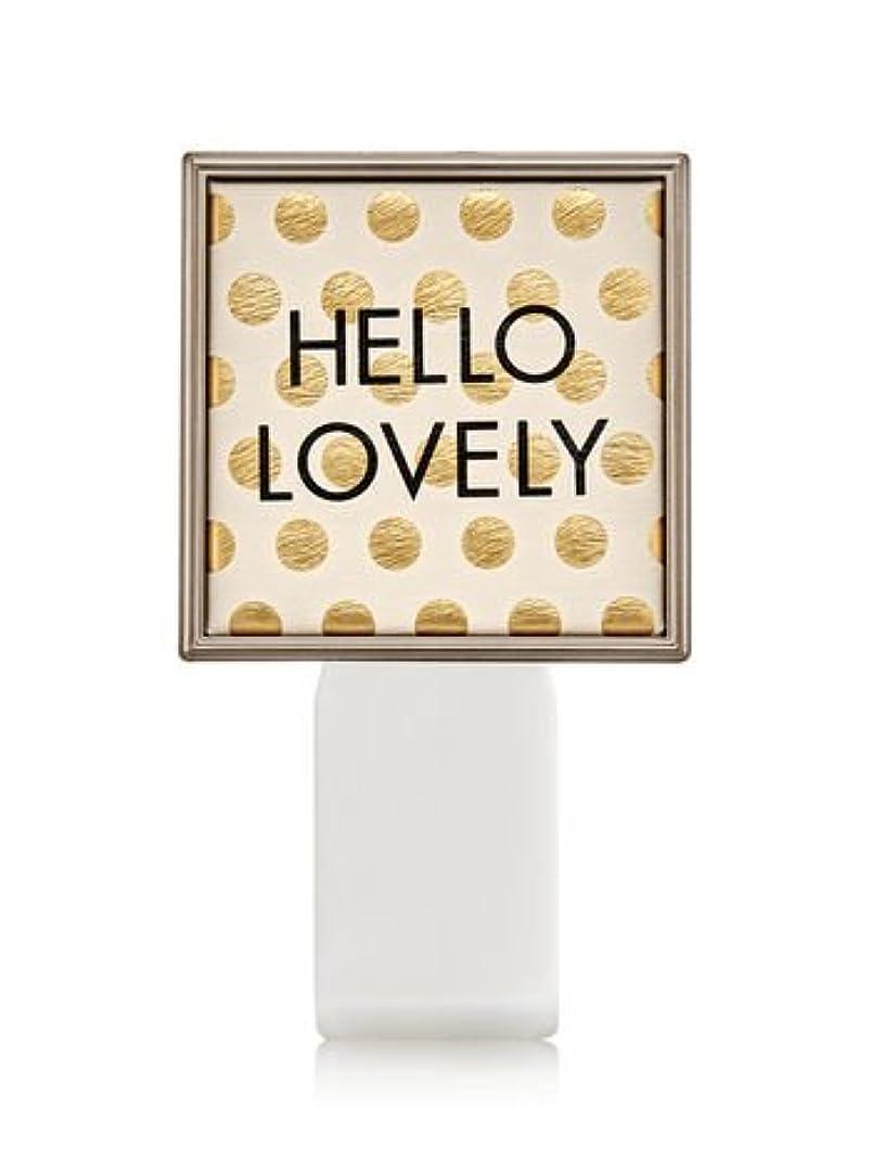 大使狂信者運河【Bath&Body Works/バス&ボディワークス】 ルームフレグランス プラグインスターター (本体のみ) ハローラブリー Wallflowers Fragrance Plug Hello Lovely [並行輸入品]
