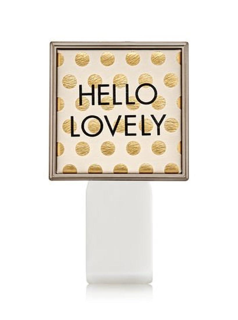 取り組む大きなスケールで見ると大学【Bath&Body Works/バス&ボディワークス】 ルームフレグランス プラグインスターター (本体のみ) ハローラブリー Wallflowers Fragrance Plug Hello Lovely [並行輸入品]