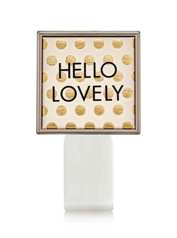 敵ハブブ柔らかさ【Bath&Body Works/バス&ボディワークス】 ルームフレグランス プラグインスターター (本体のみ) ハローラブリー Wallflowers Fragrance Plug Hello Lovely [並行輸入品]