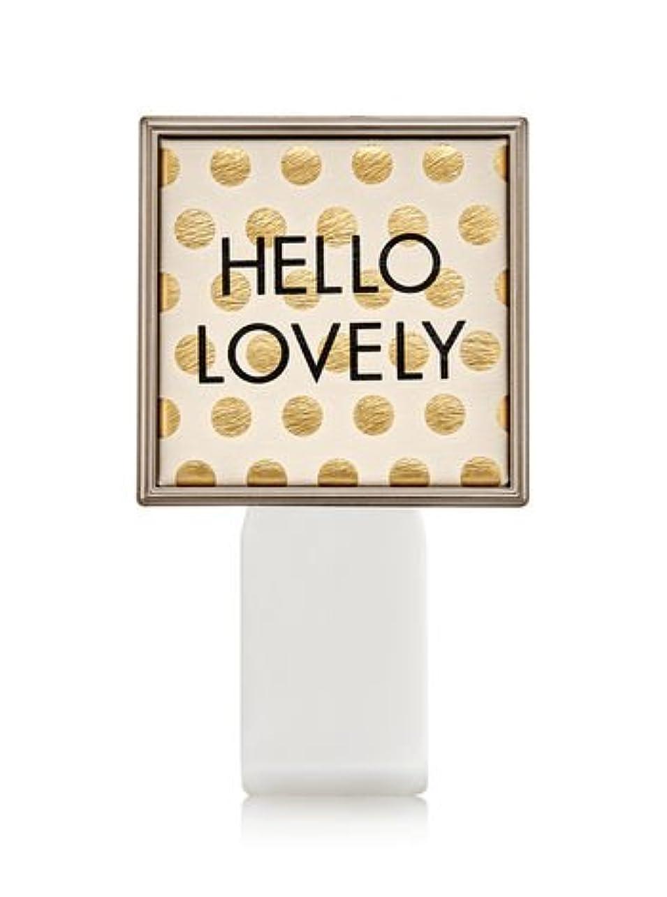 変更毒液ビジョン【Bath&Body Works/バス&ボディワークス】 ルームフレグランス プラグインスターター (本体のみ) ハローラブリー Wallflowers Fragrance Plug Hello Lovely [並行輸入品]