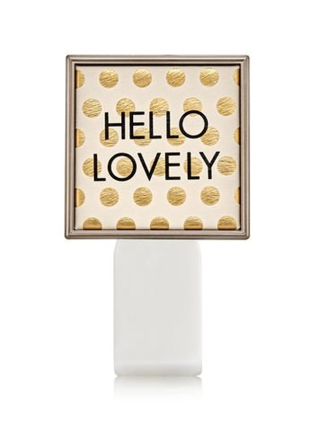 スリル出席商品【Bath&Body Works/バス&ボディワークス】 ルームフレグランス プラグインスターター (本体のみ) ハローラブリー Wallflowers Fragrance Plug Hello Lovely [並行輸入品]