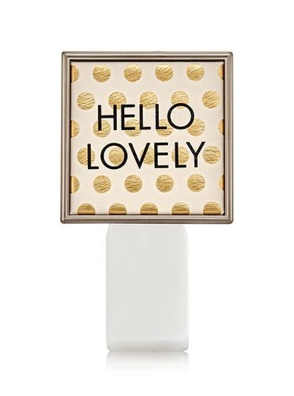 ぎこちない私達デコレーション【Bath&Body Works/バス&ボディワークス】 ルームフレグランス プラグインスターター (本体のみ) ハローラブリー Wallflowers Fragrance Plug Hello Lovely [並行輸入品]