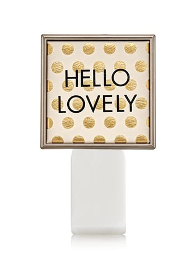 第二に前兆オセアニア【Bath&Body Works/バス&ボディワークス】 ルームフレグランス プラグインスターター (本体のみ) ハローラブリー Wallflowers Fragrance Plug Hello Lovely [並行輸入品]