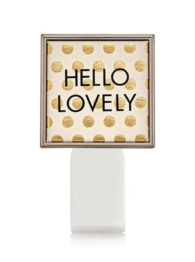 キャンプ無関心ボトルネック【Bath&Body Works/バス&ボディワークス】 ルームフレグランス プラグインスターター (本体のみ) ハローラブリー Wallflowers Fragrance Plug Hello Lovely [並行輸入品]