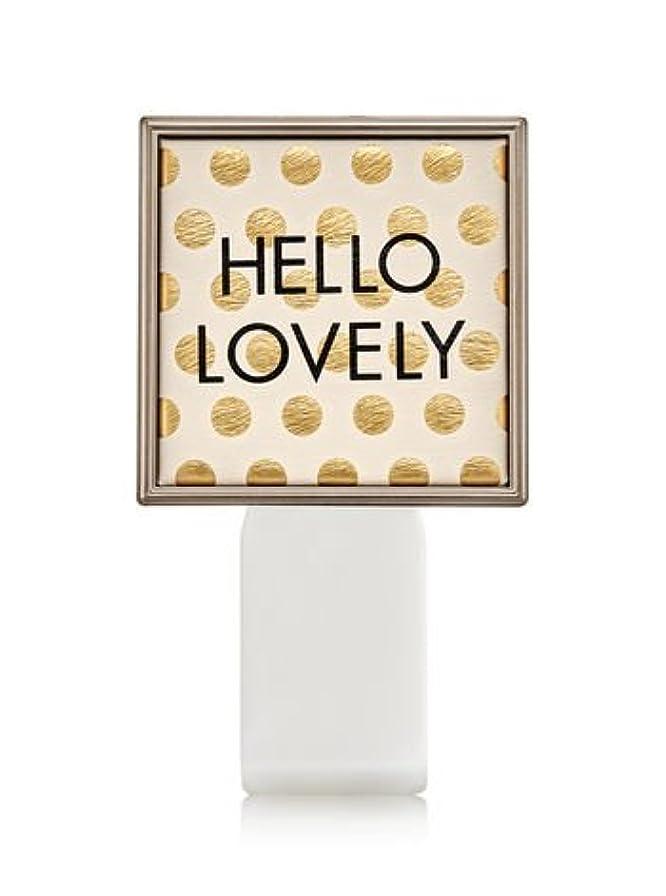 電圧型スキーム【Bath&Body Works/バス&ボディワークス】 ルームフレグランス プラグインスターター (本体のみ) ハローラブリー Wallflowers Fragrance Plug Hello Lovely [並行輸入品]