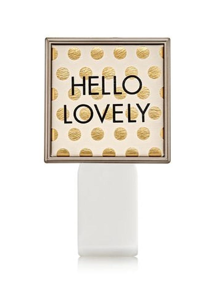 ベーリング海峡すごい熟考する【Bath&Body Works/バス&ボディワークス】 ルームフレグランス プラグインスターター (本体のみ) ハローラブリー Wallflowers Fragrance Plug Hello Lovely [並行輸入品]