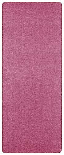 Hanse Home 101147 Uni Teppich 67 x 120 cm, rosa