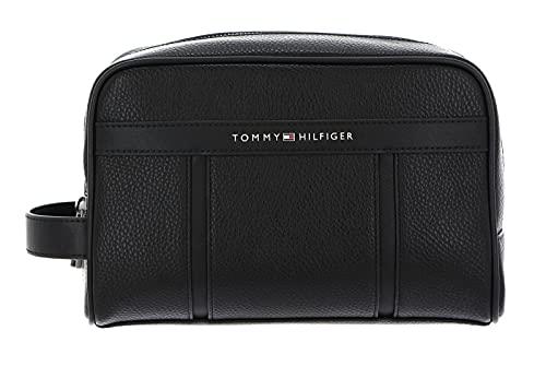 Tommy Hilfiger TH Downtown Washbag, Otros SLG para Hombre, Black, Medium