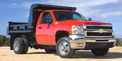 2007 Chevrolet Silverado 3500 HD WT, 4-Wheel Drive Regular Cab 161.5' Wheelbase, 84.9' Cab to Axle, Dark Blue Metallic