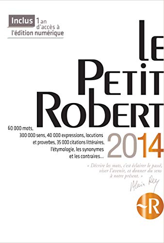 PETIT ROBERT LANGUE FSE 2014
