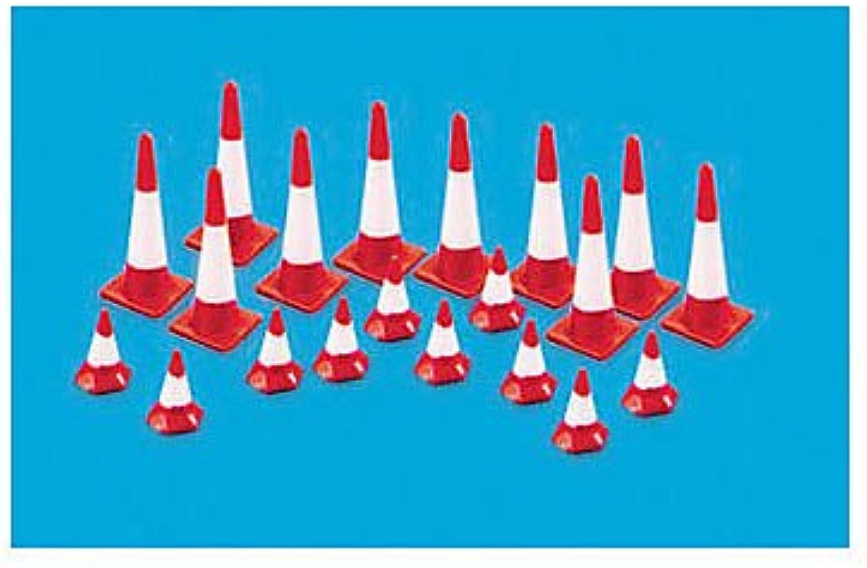 Peco HO Traffic Traffic Traffic Cones (20) B009PBW21U  Geeignet für Farbe b1080f