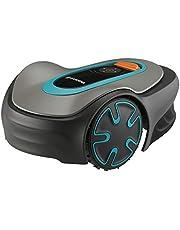 GARDENA Robotmaaier SILENO minimo: programmeerbaar met Bluetooth app, maait automatisch en streepvrij oppervlakken tot 250 m², stille robotmaaier die zich aanpast aan de grasgroei (15201-20)