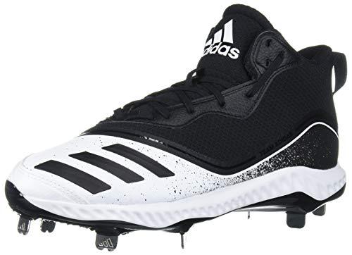 adidas Icon V Bounce Mid, Zapatillas Deportivas. para Hombre, FTWR White Core Black Core-Reloj de Pulsera, Color Negro, 39.5 EU