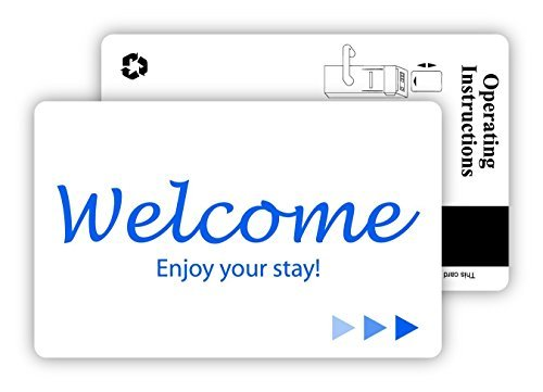 Hotel & Motel Magnetic Stripe Key Cards (500)