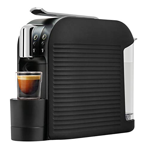 K-fee Wave Kaffeekapselmaschine, 1455 Watt, 1 Liter Wassertank, Farbe High Gloss Black
