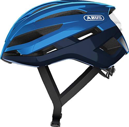 ABUS STORMCHASER Fahrradhelm, Unisex Adulto, Steel Blue, M