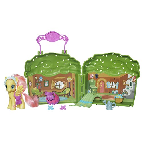 My little Pony Friendship is Magic Spielset mit Häuschen und Pony Fluttershy
