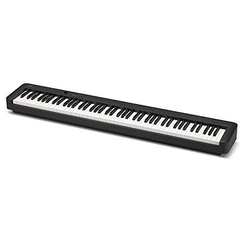 Edge to Voll Hammermechanik Digital Piano, 88 Key Anfänger Digitales Klavier-Tastatur Klavier Mit 128 Tones, 128 Rhythmen, 30 Demo-Songs Bluetooth-Verbindung, Reset-Funktion