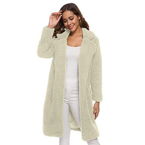 HGWXX7 Women's Vintage Long Coats Plus Size Jackets Button Cotton Thicken Overcoat Outwear Navy