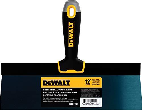 DEWALT DXTT-2-127 Taping Messer, 30,5 cm, blauer Stahl mit weichem Griff