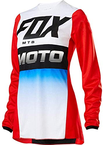 LuggageZHY Maillot MTB Chicos Jersey MTB Offroad Long Motorcycle Long Motocross Racing...