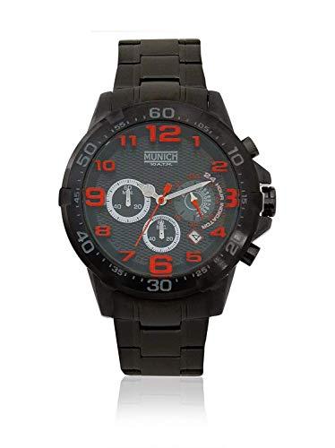 Munich Reloj Analógico para Unisex Adultos de Cuarzo con Correa en Acero Inoxidable MU+139.1A