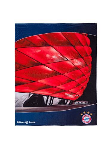 FC Bayern München Kuschelfleecedecke Allianz Arena