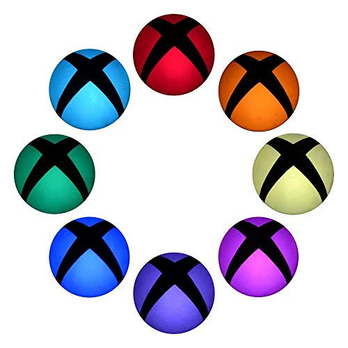 eXtremeRate 16 Pcs Xbox One Console Aufkleber Home Button Power Switch Sticker Skin für Xbox One Console(Polychrome)