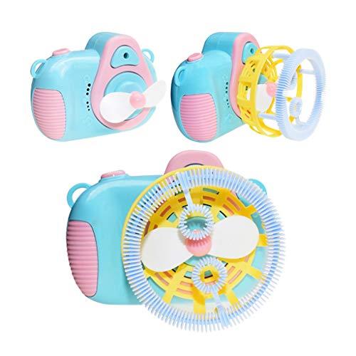 VVXXMO Bubble Machine, Automatische Durable Blasen-Gebläse mit Liquid, Bubble Maker Spielzeug für Kind-Jungen-Mädchen-Baby-Kleinkind