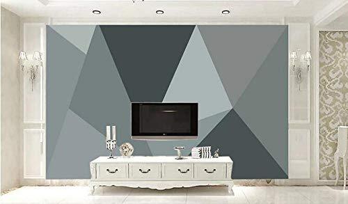 Fototapete Moderne minimalistische schlichte IKEA-Stil Farbblock Segmentierung geometrische Hintergrundwand 400 cm x 280 cm (157,4 x 110,2 Zoll) Wandbild Fleece Tapete Wohnzimmer Schlafzimmer Büro Kor