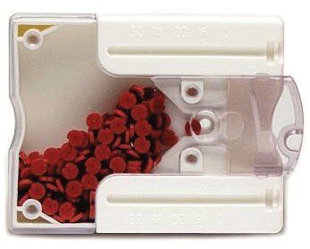 Roydent Dental Products 129R True Stop Endo Stoppers Red 250/pk