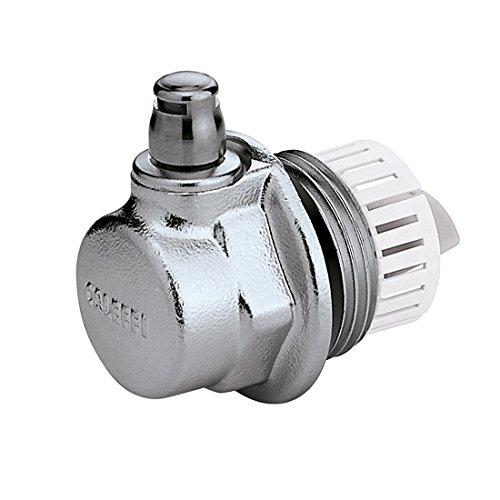 Caleffi 507721 AERCAL Tapón para Radiadores 1 1/4'' M Izquierdo con Válvula de Purga de Aire
