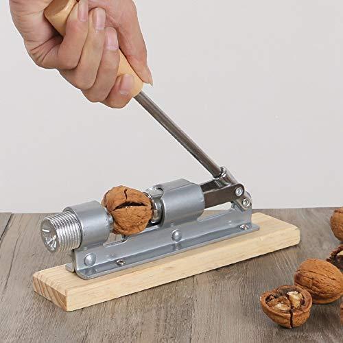 ABRC Manueller Edelstahl Nut Cracker Mechanische Walnuss Nussknacker Schnell Opener Küchenhelfer Obst und Gemüse