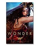 JCYMC Póster De Wonder Woman para Decoración De Sala De Estar con Imagen De Hogar Fd359Sz 40X60Cm...