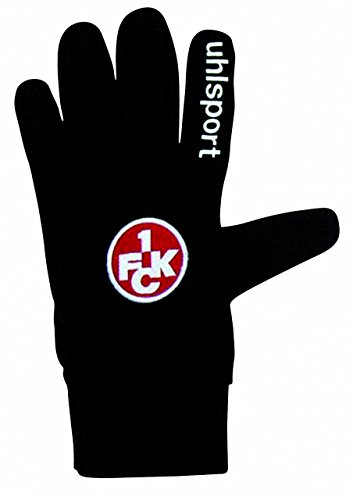 uhlsport Handschuhe FCK Feldspielerhandschuh 459-1, Schwarz, 7